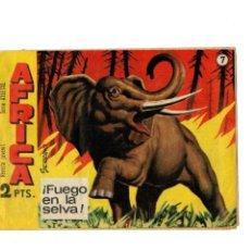 Tebeos: AFRICA Nº 7 -SERIE ATLETAS- ORIGINAL MAGA 1964.. Lote 118590019