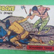 Giornalini: APACHE , SEGUNDA PARTE , NUMERO 74 , MAGA , 1958. Lote 120494867