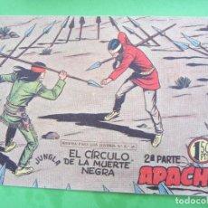 Tebeos: APACHE , SEGUNDA PARTE , NUMERO 55 , MAGA 1958 ,. Lote 120496159