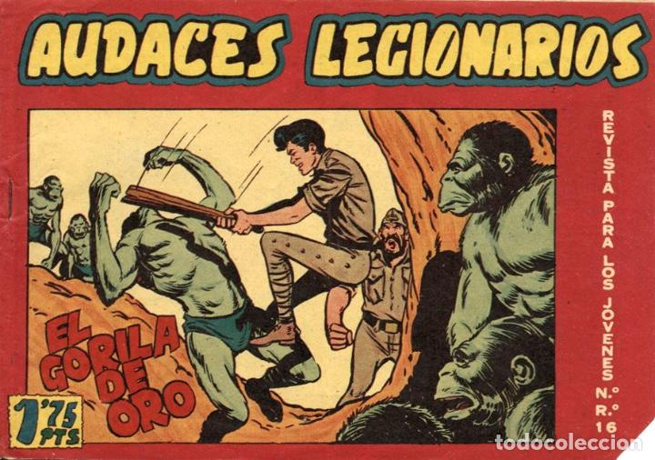 AUDACES LEGIONARIOS-31 (MAGA, 1958) DE LEOPOLDO ORTIZ (Tebeos y Comics - Maga - Otros)