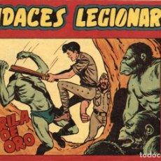 Tebeos: AUDACES LEGIONARIOS-31 (MAGA, 1958) DE LEOPOLDO ORTIZ. Lote 120885623