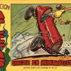 Tebeos: ATLETAS-3: SANGRE EN INDIANAPOLIS (MAGA, 1958) DE JOSÉ ORTIZ. Lote 120887611