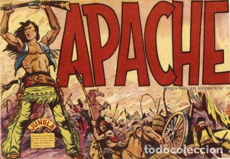 APACHE NÚMERO 1 (MAGA, 1959) DE LUIS BERMEJO Y PEDRO QUESADA (Tebeos y Comics - Maga - Apache)