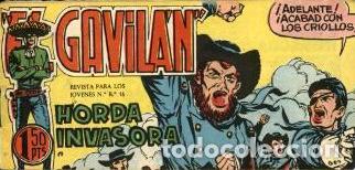 EL GAVILÁN-17: HORDA INVASORA (MAGA, 1959) DE GUERRERO (Tebeos y Comics - Maga - Otros)
