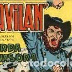 Tebeos: EL GAVILÁN-17: HORDA INVASORA (MAGA, 1959) DE GUERRERO. Lote 121009507