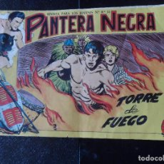 Tebeos: PANTERA NEGRA Nº 48 EDITORIAL MAGA ORIGINAL . Lote 121033331