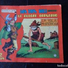 Tebeos: EL ALEGRE CORSARIO Nº 9 EDITORIAL MAGA ORIGINAL . Lote 121034959
