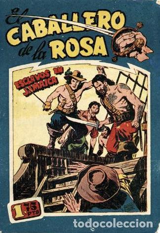 EL CABALLERO DE LA ROSA NÚMERO 2 (MAGA, 1958) DE JOSÉ ORTIZ (Tebeos y Comics - Maga - Otros)