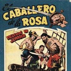 Tebeos: EL CABALLERO DE LA ROSA NÚMERO 2 (MAGA, 1958) DE JOSÉ ORTIZ. Lote 121063939