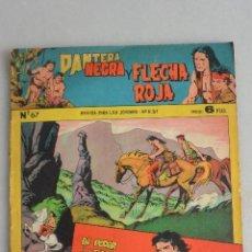 Tebeos: COMIC TEBEO PANTERA NEGRA Y FLECHA ROJA , Nº 67. 1958 MAGA. Lote 121121159
