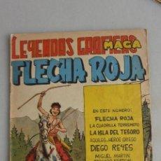 Tebeos: COMIC TEBEO FLECHA ROJA , Nº 25. 1962 MAGA. Lote 121121647