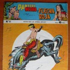Tebeos: PANTERA NEGRA Y FLECHA ROJA Nº 85 - EDITORIAL MAGA 1962. Lote 121721303