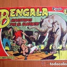 Tebeos: BENGALA 2ª, Nº 5 APLASTADOS POR EL ELEFANTE - EDITORIAL MAGA 1960. Lote 121724139