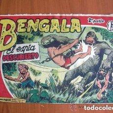 Tebeos: BENGALA 2ª, Nº 10 EL ESPIA DESCUBIERTO - EDITORIAL MAGA 1960. Lote 121724287