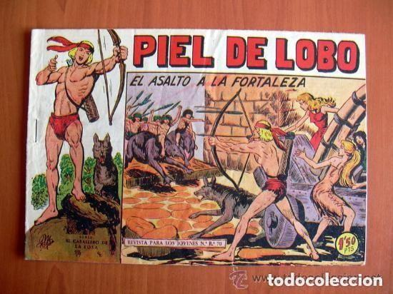 PIEL DE LOBO, Nº 52 EL ASALTO A LA FORTALEZA - EDITORIAL MAGA 1959 (Tebeos y Comics - Maga - Piel de Lobo)