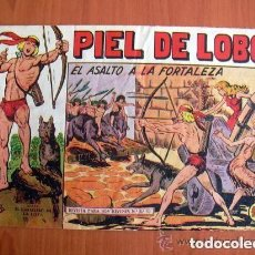 Tebeos: PIEL DE LOBO, Nº 52 EL ASALTO A LA FORTALEZA - EDITORIAL MAGA 1959. Lote 121724915
