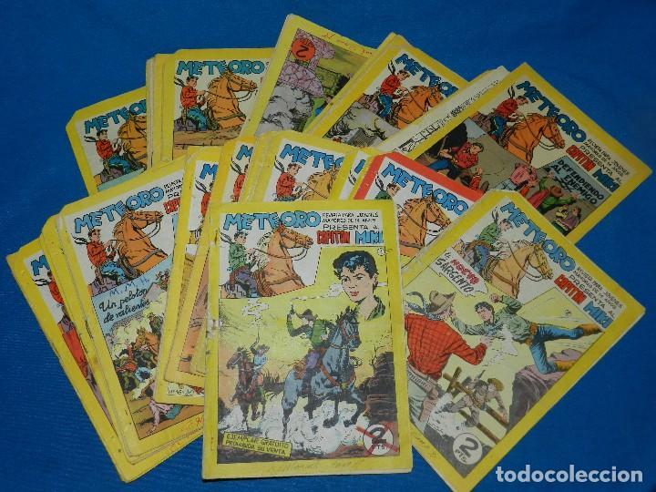 (M4) METEORO CAPITAN MIKI , GRAN LOTE DEL 1 AL 61 ( FALTAN 9 NUMEROS INTERCALADOS ) EDT MAGA 1964 (Tebeos y Comics - Maga - Otros)