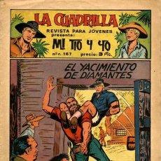 Tebeos: MI TIO Y YO, NÚM. 22, DE GAGO (MAGA, 1964). Lote 121851847