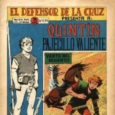 Tebeos: QUINTIN PAJECILLO VALIENTE-9 (MAGA, 1965) DE GIGARPE. Lote 121871131