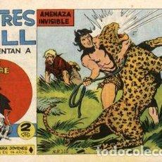 Tebeos: SAHIB TRIGRE-13- (LOS TRES BILL) DE EUSTAQUIO SEGRELLES (MAGA, 1964). Lote 121903067