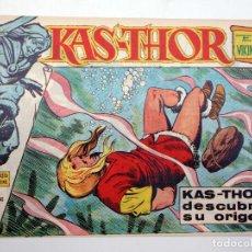 Tebeos: KAS THOR KAS-THOR EL VIKINGO 5. KAS-THOR DESCUBRE SU ORIGEN (BULMER / LAWRENCE) MAGA, 1963. ORIGINAL. Lote 121976623