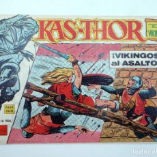 Tebeos: KAS THOR KAS-THOR EL VIKINGO 6. VIKINGOS AL ASALTO (BULMER / LAWRENCE) MAGA, 1963. ORIGINAL. Lote 121976627