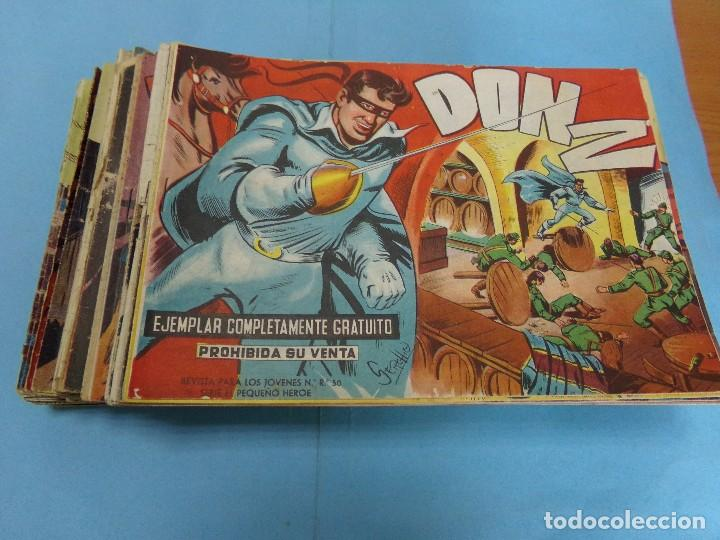81 TEBEOS DE DON Z, ORIGINALES FALTAN 9, (Tebeos y Comics - Maga - Don Z)