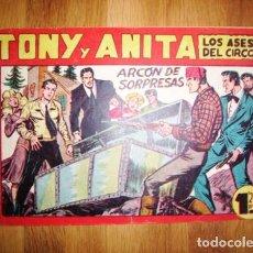 Tebeos: TONY Y ANITA : LOS ASES DEL CIRCO. Nº 120 : ARCÓN DE SORPRESAS. - VALENCIA : MAGA, [CA. 1956]. Lote 122549371