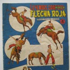 Tebeos: LEYENDAS GRAFICAS MAGA - FLECHA ROJA Nº50 - CONSERVA SUPLEMENTO CENTRAL. Lote 122553579