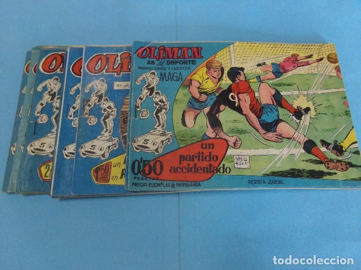 26 TEBEOS DE OLIMAN, BUEN ESTADO DE LA EDITORIAL MAGA 1961 (Tebeos y Comics - Maga - Oliman)