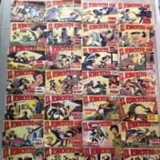 Tebeos: LOTE COMIC EL RANCHERO DE EDITORIAL MAGA ORIGINAL AÑOS 60 COMPLETO DEL 1 AL 32. Lote 123357887