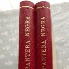Tebeos: PANTERA NEGRA COMPLETA EN DOS TOMOS DE LUJO REEDITADOS. MAGA 1956. EXCELENTE ESTADO. Lote 124147659