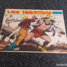 Livros de Banda Desenhada: LOS IMBATIDOS EDITORIAL MAGA ORIGINAL PRECIO 2 PESETAS // LA AVENTURA DE TIN Y TINA Nº 17 //1963. Lote 124278619