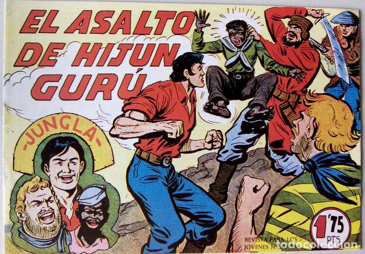 EL ASALTO DE HIJUN GURÚ CON GURÚ REVISTA PARA JOVENES Nº Rº 39 EDITORIAL MAGA (Tebeos y Comics - Maga - Otros)