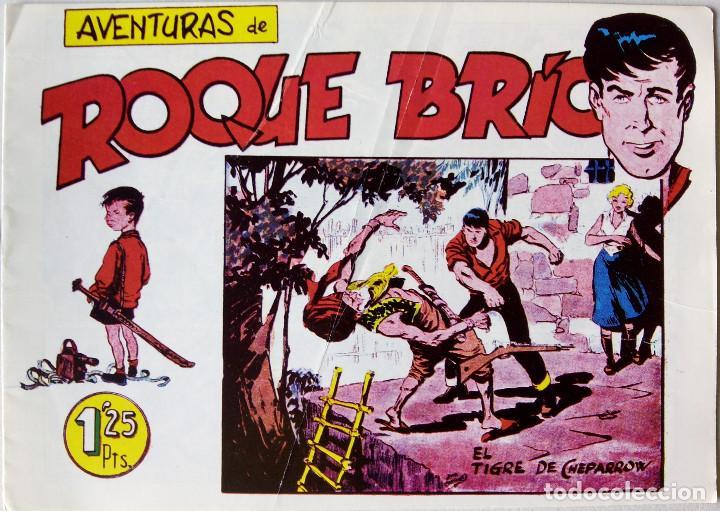 AVENTURAS DE ROQUE BRÍO EDITORIAL MAGA (Tebeos y Comics - Maga - Otros)