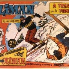 Tebeos: COMIC N°7 OLIMAN EXTRAORDINARIO 1961. Lote 125031751