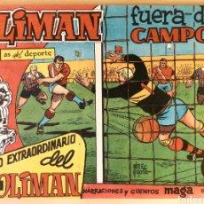 Tebeos: COMIC N°2 OLIMAN EXTRAORDINARIO 1961. Lote 125156352