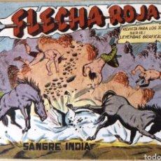 Tebeos: TEBEO N°6 FLECHA ROJA 1962. Lote 125324246