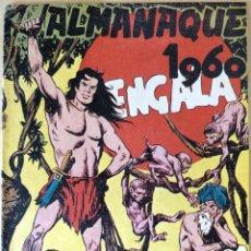 Tebeos: COMIC BENGALA ALMANAQUE 1960. Lote 125363200