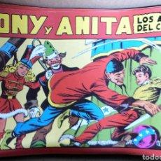 Tebeos: TEBEO TONY Y ANITA 153 VOLUMENES EDICIÓN COMPLETA FACSÍMIL. Lote 125370716