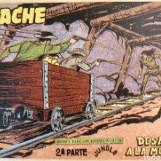 Tebeos: TEBEO N°65 APACHE 2Å PARTE 1960. Lote 125410599