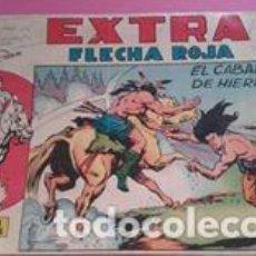 Tebeos: TEBEO FLECHA ROJA EXTRA NUMERO 4 EL CABALLO DE HIERRO. Lote 126286103