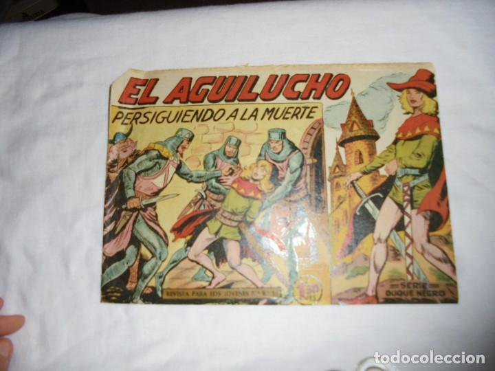 EL AGUILUCHO Nº 5.PERSIGUIENDO A LA MUERTE (Tebeos y Comics - Maga - Otros)