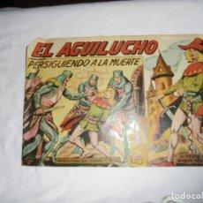 Tebeos: EL AGUILUCHO Nº 5.PERSIGUIENDO A LA MUERTE. Lote 126744763