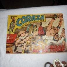 Tebeos: CORAZA Nº 5.-CORAZA NO SE RINDE. Lote 126745799