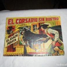 Tebeos: EL CORSARIO SIN ROSTRO Nº 4.-EL ASALTO PIRATA. Lote 126746135