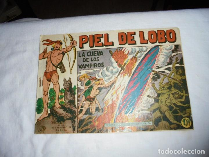 PIEL DE LOBO Nº 27.-LA CUEVA DE LOS VAMPIROS (Tebeos y Comics - Maga - Piel de Lobo)