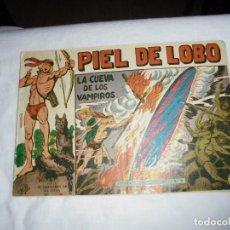 Tebeos: PIEL DE LOBO Nº 27.-LA CUEVA DE LOS VAMPIROS. Lote 126747079