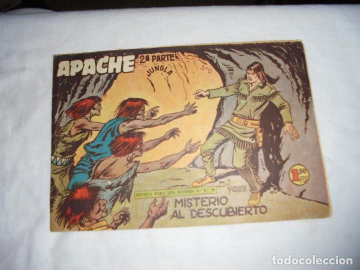 APACHE 2ª PARTE .-Nº 39.-MISTERIO AL DESCUBIERTO (Tebeos y Comics - Maga - Apache)