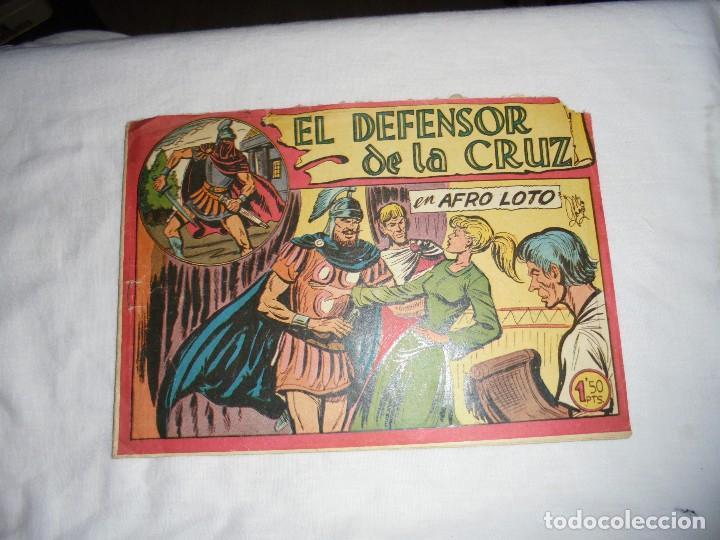 EL DEFENSOR DE LA CRUZ Nº 48.EN AFRO LOTO (Tebeos y Comics - Maga - Otros)